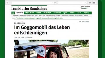 Zeitungsartikel Goggotour FR