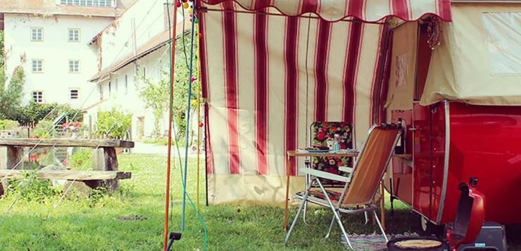 Moskitos Paradise Goggomobil Camper Entschleunigung erster Tag