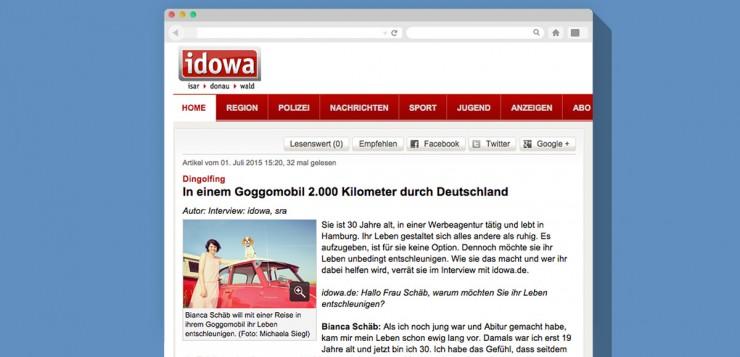 Artikel Straubinger Tageblatt